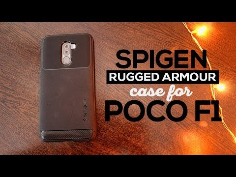 free shipping a000f ad057 Spigen Rugged Armor Case for Xiaomi Poco F1 | Best Case for ...