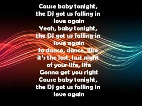 Dj Got Us Fallin In Love Lyrics Usher Feat Pitbull Youtube
