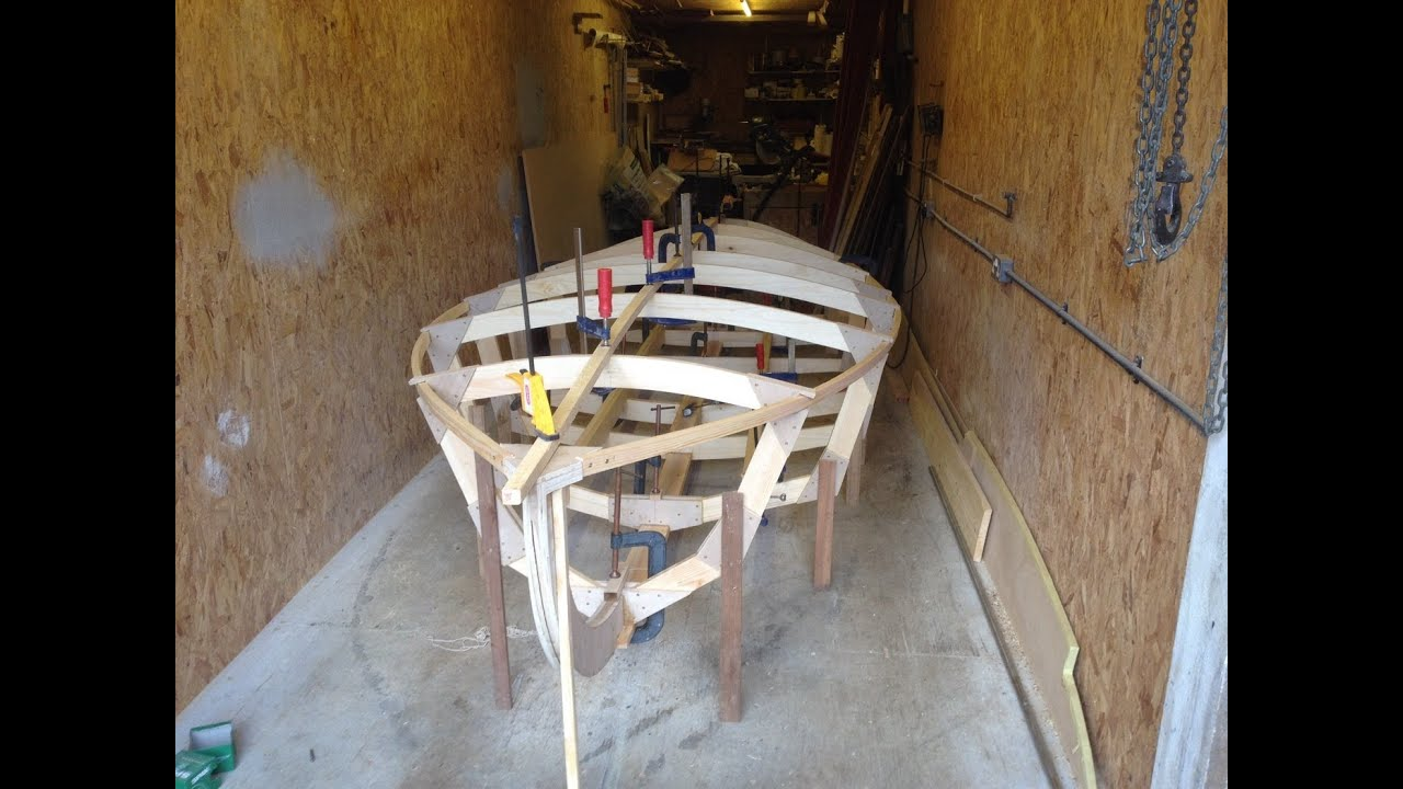 Rocket Hydroplane Build #3 First Assembly Frames and