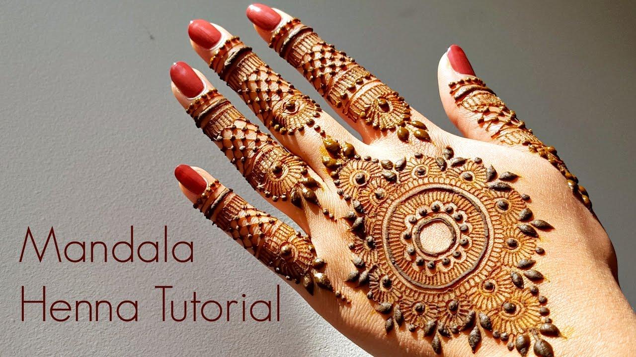 Mandala Henna Designs: Mandala Henna Tutorial