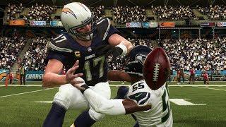 NFL Saturday 8/18 - Seattle Seahawks vs Los Angeles Chargers | NFL Preseason Week 2 (Madden 19)