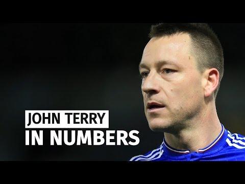 John Terry's Career In Numbers