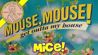 Mouse, Mouse Get Out Of My House Game, Launch Your Mice!