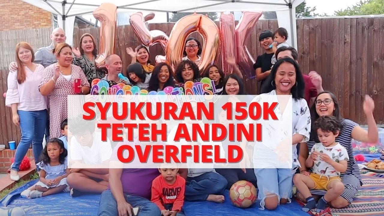 Download SERUNYA ACARA SYUKURAN 150K @Andini Overfield   MAKANAN BERLIMPAH