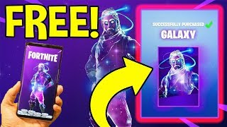 How To Get FREE Galaxy Skin In Fortnite Battle Royale! (Working)
