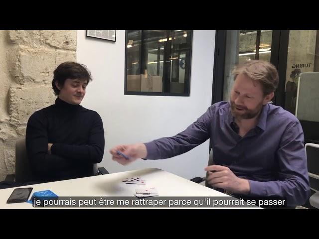 Coup de poker avec Eric Larchevêque, CEO de LEDGER au micro de François Santi