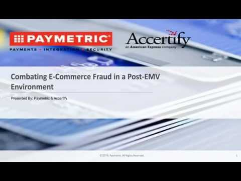 Combating E-commerce Fraud in a Post-EMV Environment