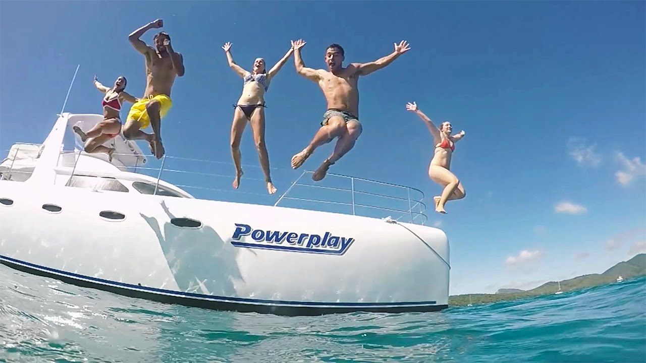 Whitsundays overnight tour on POWERPLAY Catamaran