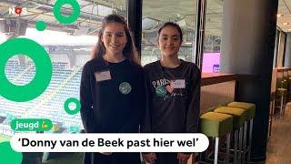 Amira en Ilham zijn even de baas van ADO Den Haag