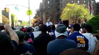 32BJ Rally Brooklyn Fishman