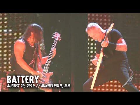 Metallica: Battery MetOnTour  Minneapolis, MN  2016