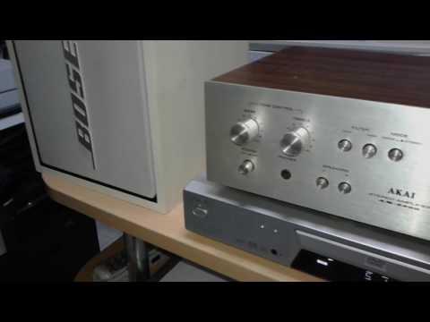 Bose 301 Series II Bookshelf Speakers test
