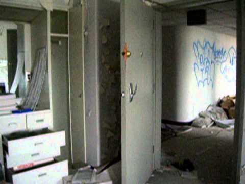 detroit abandoned hospital CEOs office