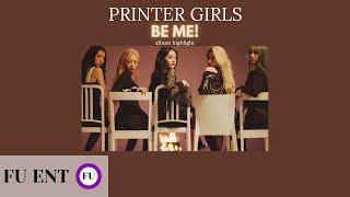 "PRINTER GIRLS (프린터 여자) ""B…"