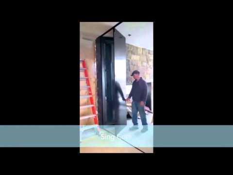 Hot Rolled Steel Accordion Doors