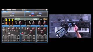 Roland V-Combo VR-09 iPad Editor