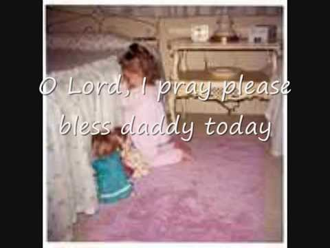 Lord, Bless Daddy Today   with lyrics mp3