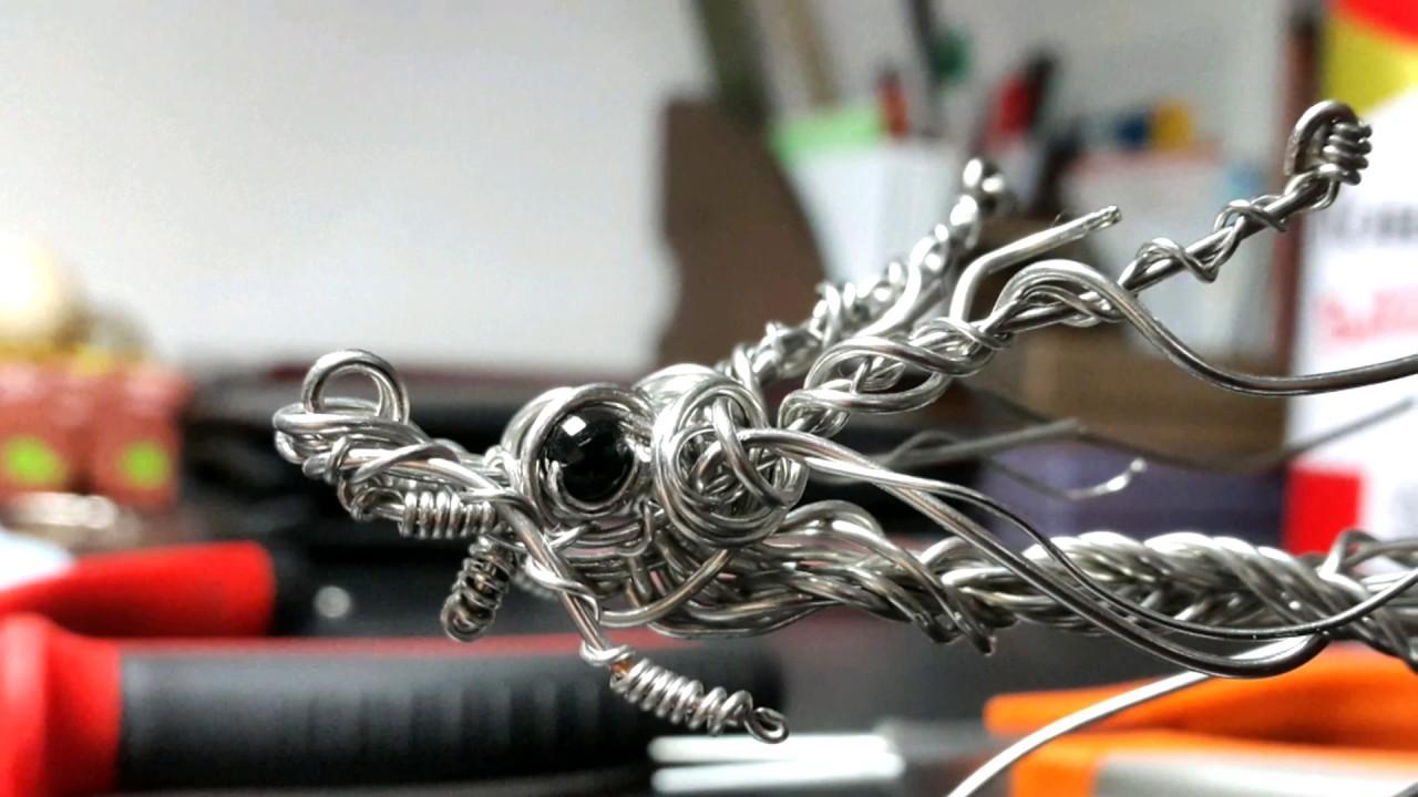 Tutorial - Wire Sculpture - Stainless Steel - Dragon - Rick Wire Art ...