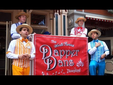 "Dapper Dans perform ""You've Got a Friend in Me"" unplugged during Pixar Fest at Disneyland"