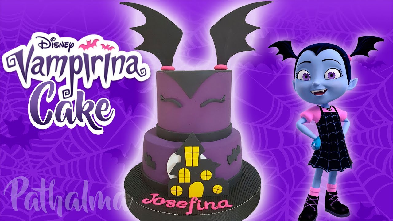 Torta de cumpleanos vampirina