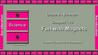 Ch 13 Fun with Magnets (Science, Grade 6, CBSE) The LandMark - Hindi Explanation Series