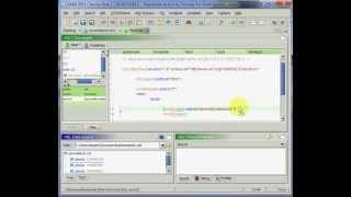 Erstellen Sie ein XSLT-Dokument mit Drag ' N ' Drop mit EditiX XML-Editor
