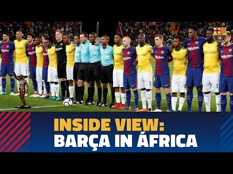 [BEHIND THE SCENES] FC Barcelona's visit to South Africa
