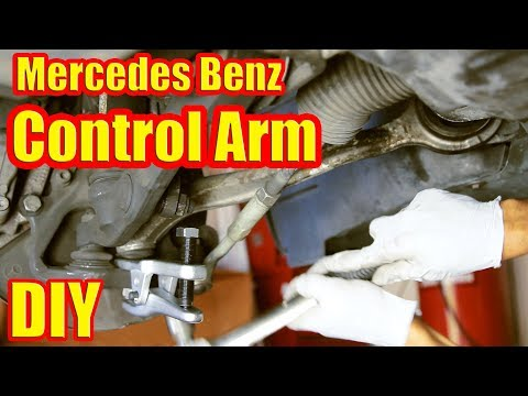: How To Replace Your Control Arm And Ball Joint – Mercedes Benz – S500 W220