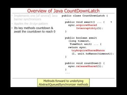 Java Barrier Synchronization