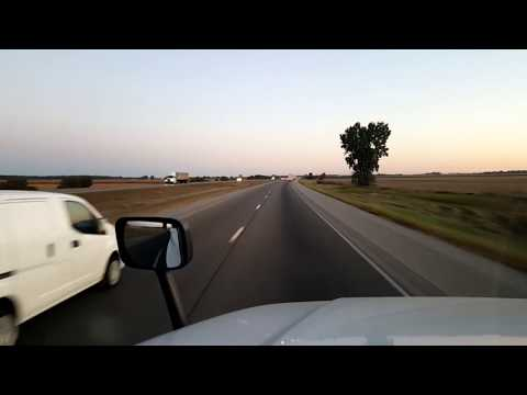 BigRigTravels LIVE! Rochelle to Belvidere, Illinois-Interstate 39 & US 20-Sept. 29, 2017