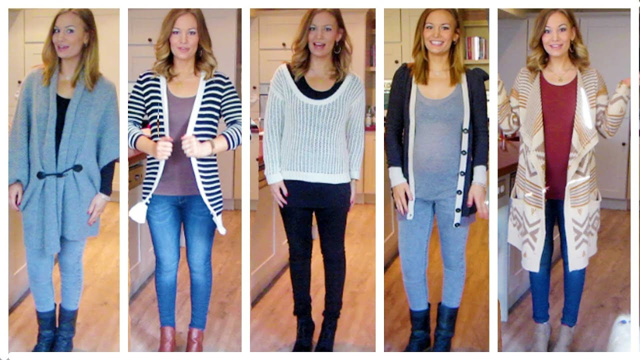 Pregnancy Style Outfits - YouTube