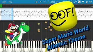 Super Mario World Using Roblox Death Sound!!!