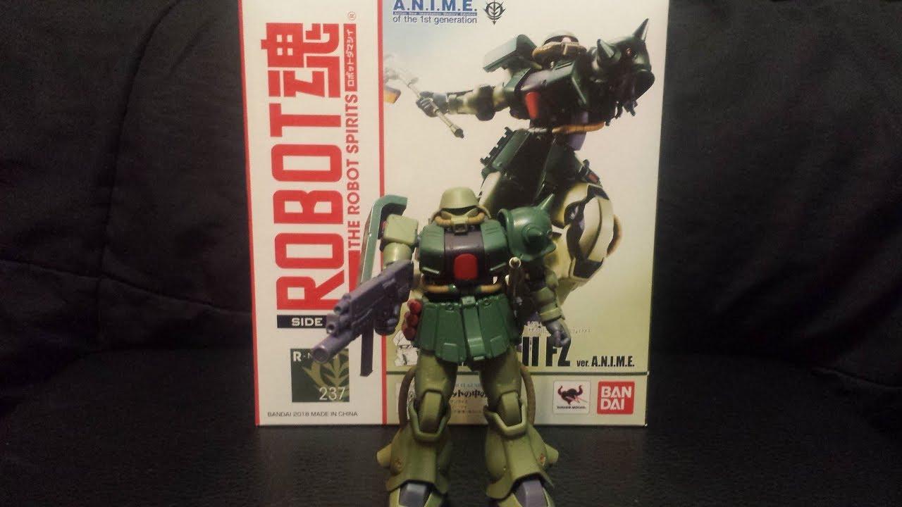 Figure Review Robot Spirits 237 Ms 06fz Youtube Gundam Mg Rx78 2 Verka 114215