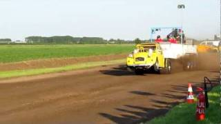 Carpulling Snelrewaard 2011 Poison Ducky 1ste manche autotrek