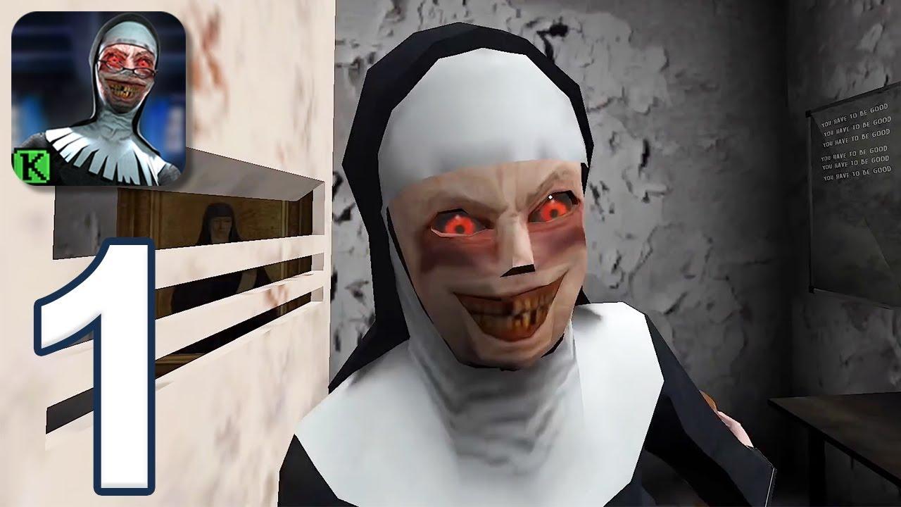 Evil Nun - Gameplay Walkthrough Part 1 - Ending (iOS ...  Evil Nun - Game...