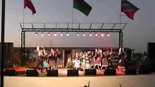 Escuela de danzas isla grande de chiloé-La minga de chiloé