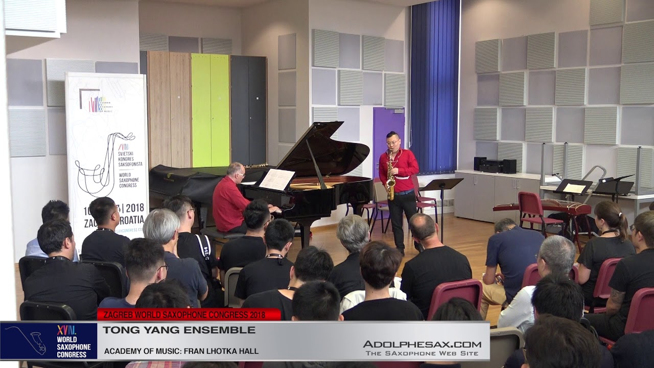 HR Suita : CRO Suite by Bruno Vlahek    Tong Yang Ensemble   XVIII World Sax Congress 2018 #adolphes