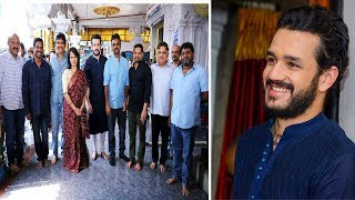 Akhil Akkineni New Movie Opening Bommarillu Bhaskar Nagarjuna Film Jalsa