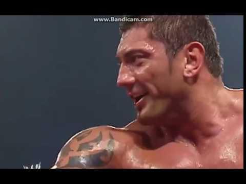 WWE RAW Batista Vs. Randy Orton 11.8.2004 Part 2