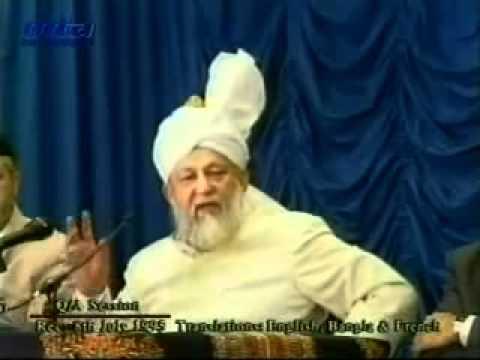 Hazrat Mirza Tahir Ahmad - Majlis E Irfan - (On Lahori Jamat And European Union) - by roothmens