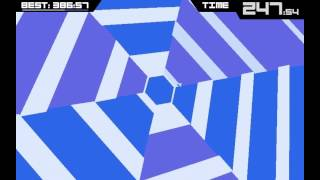 Repeat youtube video The God Run - 480 seconds - Super Hexagon