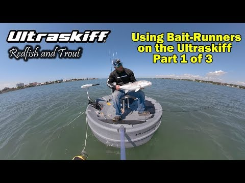 How To Use Baitrunners (1/3) - Redfish And Trout - Ultraskiff Fishing