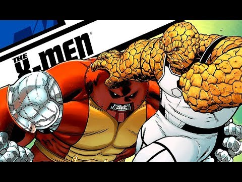 The Thing vs. Unstoppable Colossus / Juggernaut Explained ...