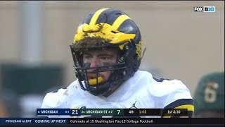 2018 Michigan Football Highlights at Michigan State