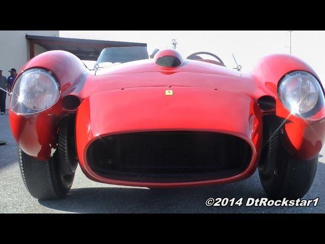 Ferrari 250 Testa Rossa Driving