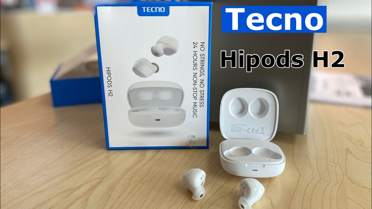 Tecno Hipods H2 unboxing video
