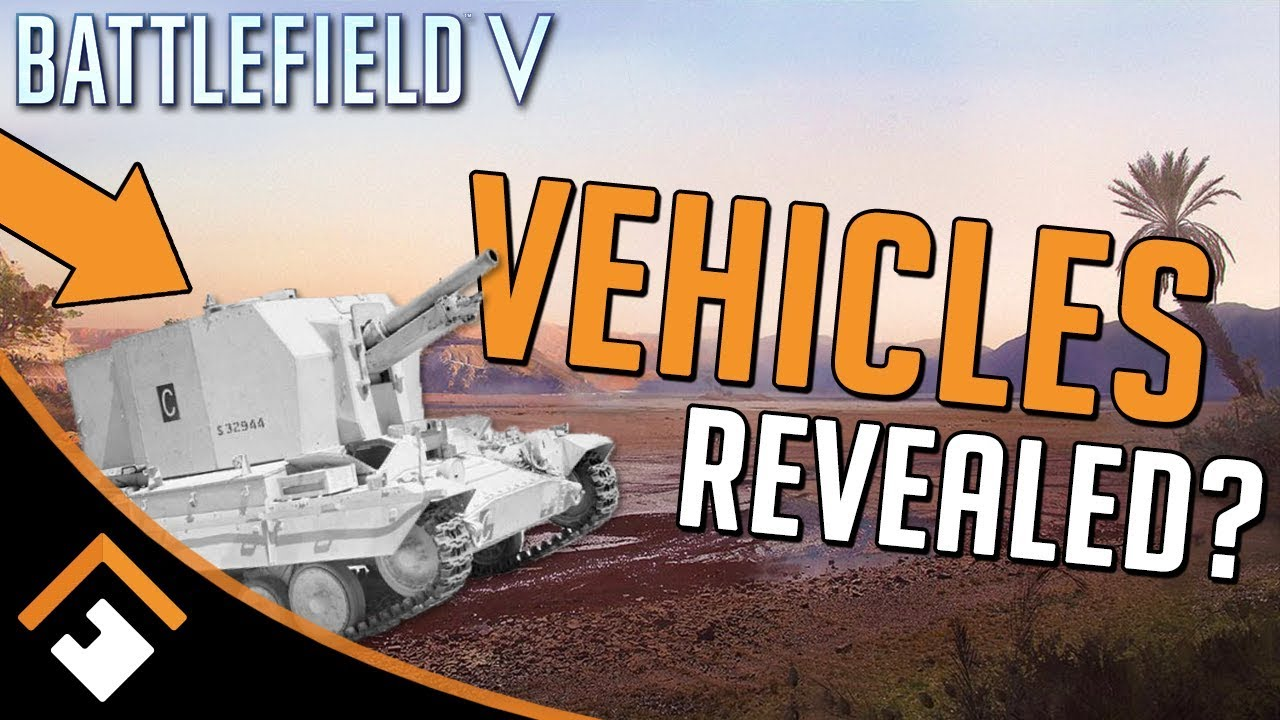 Did DICE Inadvertently LEAK Future Vehicles for BATTLEFIELD V?