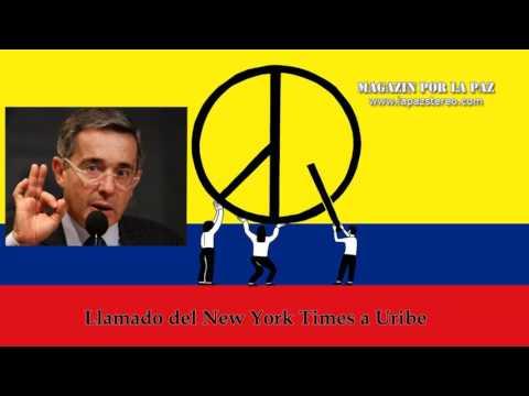 Magazín por la paz – Llamado a Uribe