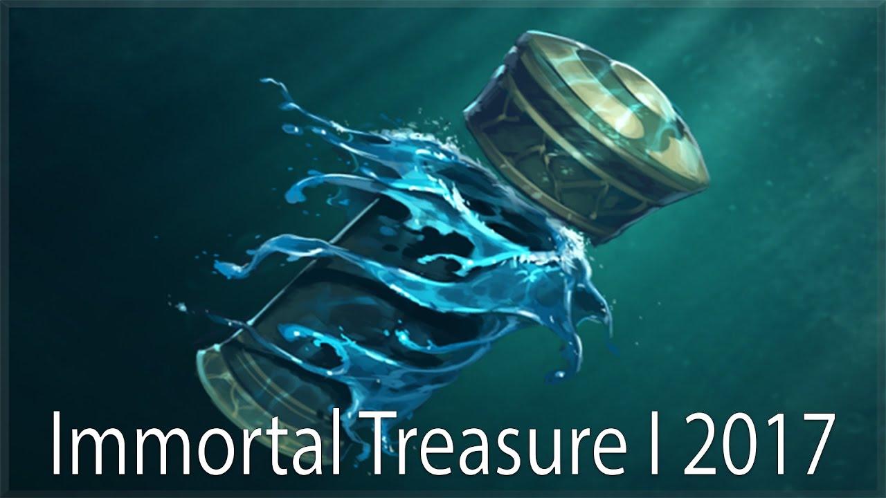 Immortal Treasure I: ОТКРЫВАЕМ Immortal Treasure I 2017 Dota 2