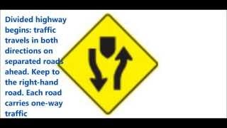 Few tips to pass your Ontario G1 driving test- traffic signs practice questions